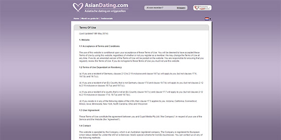 Online dating Asia gratis