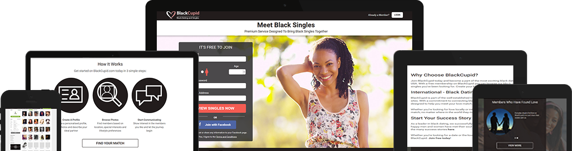 een gratis Black dating website